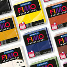 FIMO PROFESSIONAL POLYMER MODELLING OVEN BAKE CLAY 85g - 29 COLOURS INC DOLL ART
