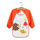 Baby Toddler Waterproof Long Sleeve Children Kids Feeding Art Smock Bib Apron