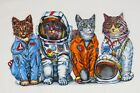 Kyпить SPACE CATS--NASA Astronaut Flight Suits Astronomy Science 2 sided kids T shirt на еВаy.соm