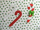 40 Candy Canes Christmas Die Cuts