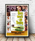 They were so young : old Movie advertising, Reproduction poster, Wall art.