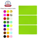 Moving Labels Color Coded Rectangle Name Tags Stickers 102mm X 51mm 45 Pack