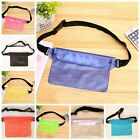 Waterproof Case Pouch Bag With Waist Strap For Beach Swimming Boating Kayaking