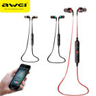 Awei A960BL Wireless Sports Bluetooth 4 Noise Reduction Earbud Stereo Headsets