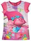 Girls Official Dreamworks Trolls Movie Poppy Nightdress Nightie 2 to 8 Years