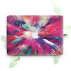 Pink Illusion Paint Art Hard Cover Case For Macbook Pro Retina Air 11 12 13 15