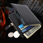 male coin purse - Male Fashion Card Holder Wallet Leather Men's Coin Pocket Purse Money Walet Gift