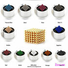 5 mm 216pcs Magnetic Balls Magic Beads 3D Puzzle Ball Neodymium Sphere toy Cube