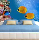 3D Fat Golden Fishs 86 Wall Paper Murals Wall Print Wall Wallpaper Mural AU Kyra