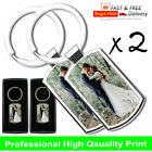Premium Personalised Photo Keyring + FREE Gift Box  Fathers Day Gift <br/> High Quality Metal Keyring! Fast and Free Postage!