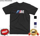 BMW M LOGO MOTORSPORT TWIN TURBO M2 M3 M4 M5 M6 SPORT PERFORMANCE T-SHIRT TEE