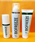 BIOFREEZE - 4 oz SPRAY | 4 oz GEL | 3 oz ROLL-ON - ALSO in 3 PACK - MDCOMFORT