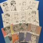 Attack on Titan - Illustration Postcard - Levi Erwin Reiner Bertolt Armin Jean