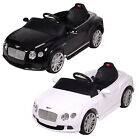 12V Bentley Continental GT Kids Electric Battery Ride On Car Parental Control