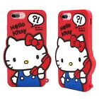 2017 3D Cartoon Soft Silicone Phone Case Rubber Cover For iPhone X 5 6 7 8 Plus