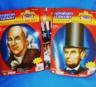 HISTORICAL HEROES DISGUISE KIT ABE LINCOLN BEN FRANKLIN UNCLE SAM BOOK REPORTS