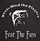 Fear the Fans Cleveland Browns Vinyl Decal for laptop windows wall car boat on eBay