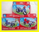 1 Metal Construction Kit model toy building set build it motor cycle diy vehicle