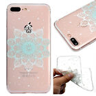 FASHION CUTE CHIC RUBBER SILICON CLEAR TPU SOFT Back Case Cover For Apple iPhone