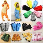 Cosplay Costume Slippers Claw Paw Shoes Adults Kids Cartoon Animal Indoor Home for sale  Shipping to United States