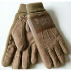 NWT Men Isotoner Black Brown Winter Gloves Thinsulate ISO Microfiber