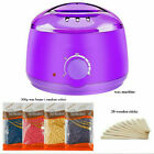 Hair Removal Hot Wax Warmer Heater Machine 110V US Har Remove Depilatory Beans
