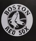 Boston Red Sox Vinyl Decal for laptop windows wall car boat