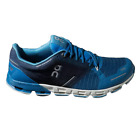 ON Cloudflyer Mens Stability Road Running Shoes Blue/White