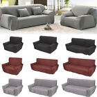 1/2/3/4 Seater Stretch Elastic Fabric Sofa Cover Sl10ouch Covers Spandex