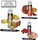 Pukka Juice Deserts E Liquid 5X10ml 0mg & With Nic Shots Pink Donut TPD Flavours