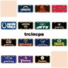 Wincraft - NFL - Plastic License Plate - Pick Your Team - FREE SHIP on eBay