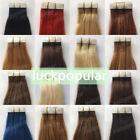Indian Remy Human Hair Extensions Seamless Tape in Skin Weft Hair20/40Pcs 20Inch