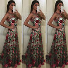 US Sexy Women Formal Prom Long Dress Evening Party Cocktail Long Maxi Dress
