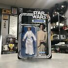 "Star Wars 40th Anniversary 6"" Black Series PRINCESS LEIA ORGANA New On Card $3.25 USD"