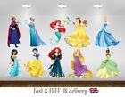 Disney Princess Kids Bedroom Vinyl Decal Wall Sticker -10 Character Selection S2