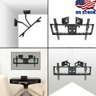 Corner Swivel Dual Arm Full Motion TV Wall Mount Bracket for 32-65 inch Smart TV
