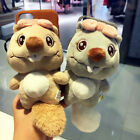 Handmade Back Hard Phone Cover with Lovely Cartoon Plush Chipmunk plush tail