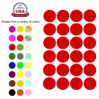 Round Stickers Colored Coding Labels 25mm 1 Inch Circle Marking Dots 120 Pack