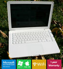 Fast Apple Unibody Macbook 2.4ghz 4gb Ram 500hdd Nvidia Bluetooth Sierra + Win7