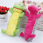 Durable Pet Dog Cat Puppy Chew Sound Squeaker Squeaky Exercise Plush Toy Pillow