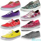New Mens, Womens Vans Classic Authentic Low Canvas Trainers