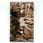Light Switch Plate Cover Camo 0004 Deer Antler
