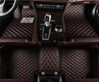 red and black car mats - Car floor mat before & after lining waterproof pad for Jeep Wrangler 2010-2018