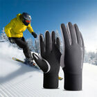 Men Male Touchscreen Winter Warm Fleece Lined Thermal Gloves For Skiing Travel