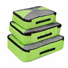 3 Set Packing Cubes - Travel Organizers Water Resistant Packing Cube Bags System