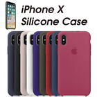 Genuine Original Silicone Case Cover for iphone x  8 & 8 Plus X10 Free Shipping