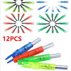 12PCS Led Lighted Nocks For Arrow Shaft ID 6.2mm Archery Hunting Shooting Tail