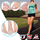 Yosoo Silicone Gel Bunion Toe Corrector Orthotics Straightener Separator Pain US