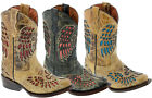 Girls Youth Kids Cowgirl Boots Assorted Colors Cowboy Western Rodeo