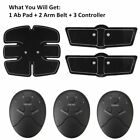 6 modes EMS Muscle Training Gear ABS Exercise body Shape Fitness with ice pack
